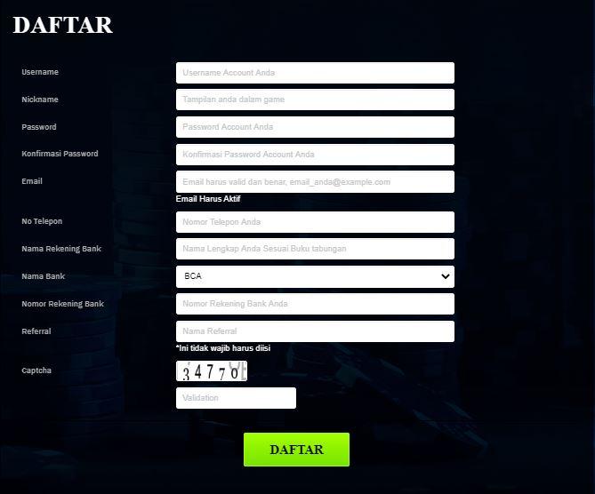 Cara Daftar Akun Poker Online di Situs Tartgetqq